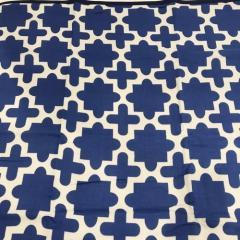 【SALE50%OFF】 冷感ブランケット GEOMETRY-BLUE 1606402 ヘミングス コンシェルジュ