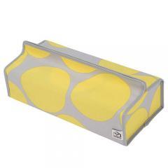 コンシェルジュ(CONCIERGE) ティッシュカバー tente テンテ CIRCLE Yellow 3000401