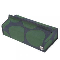 ティッシュケース ティッシュカバー 収納 tente テンテ CIRCLE Green 3000402 ヘミングス コンシュルジュ