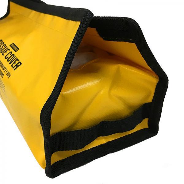 アウトレット 50%OFF ティッシュケース ティッシュケースカバー tente (テンテ) ピーナツ  3002501 YELLOW ヘミングス コンシェルジュ