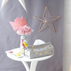 ティッシュケース ティッシュカバー 収納 tente テンテ スター STAR  344101 ヘミングス コンシェルジュ