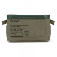 アウトレット 50%OFF 収納ケース 収納ボックス 収納用品 小物収納 Pilier ピリエ S WKD/ER ポケット MILITARY 386103 ヘミングス コンシェルジュ