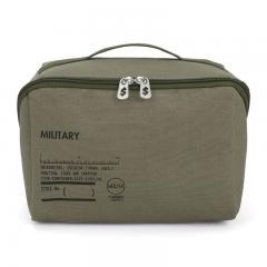 アウトレット 50%OFF 収納ケース 収納ボックス 収納用品 小物収納 キャンバス コンテナ L MILITARY 7980403 ヘミングス コンシェルジュ