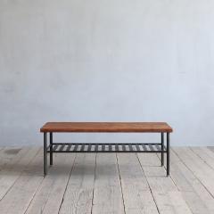 ギネスコーヒーテーブル [木天板] W1100【CRASH GATE クラッシュゲート】 【送料:D】