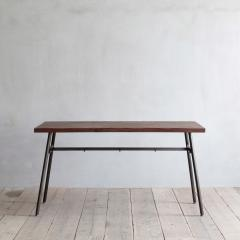 クッパII テーブル 1350 レッドパイン古材 (GUNMETAL) 【CRASH GATE クラッシュゲート】【送料:D】