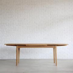 パウス ダイニングテーブル 1400 OAK-LBR(PU塗装)