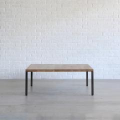 シンク コーヒーテーブル 1000*1000 WF-1 (節有BR) 【CRASH GATE クラッシュゲート】 【送料:C】