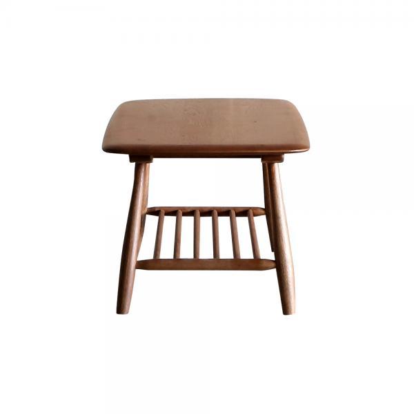 トロア コーヒーテーブル 105 OAK-BR (PU塗装) 【CRASH GATE クラッシュゲート】 【送料:C】