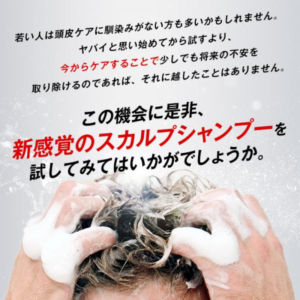 ポリピュアEX 薬用スカルプシャンプー|育毛シャンプー 男性 女性 ノンシリコン コンディショナー不要 フケ かゆみ 350mL