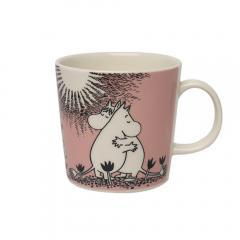 ○ アラビア  ムーミン マグ 北欧 フィンランド 食器 マグカップ (moomin) ピンク LOVE Arabia