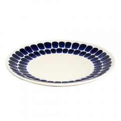 アラビア 北欧食器 24h トゥオキオ (Tuokio) 20cmプレート(皿) コバルトブルー フィンランド Arabia