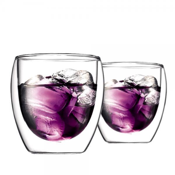 ボダム グラス パヴィーナ ダブルウォールグラス 250ml(2個セット) 4558-10 Pavina Double Wall Glass デンマーク 北欧 食器 bodum