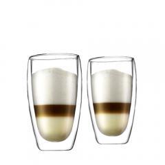 10%OFFクーポン対象商品 ボダム グラス パヴィーナ ダブルウォールグラス 450ml (2個セット) 4560-10 Double Wall Glass デンマーク 北欧 食器 bodum クーポンコード:KZUZN2T