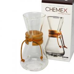 ケメックス  コーヒーメーカー マシンメイド 3カップ用 ドリップ式  CHEMEX