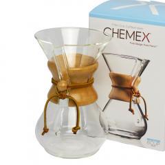 ケメックス  コーヒーメーカー マシンメイド 6カップ用 ドリップ式 CHEMEX