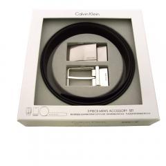 送料無料 Calvin Klein カルバンクライン 74142 3ピースベルトセット【北海道・沖縄は別途540円加算】 Calvin Klein