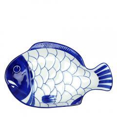 ダンスク ARABESQUE(アラベスク)スモールフィッシュプラター 22205AL 北欧 食器 Small Fish Platterブルー DANSK