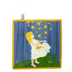 10%OFFクーポン対象商品 フェイラー ハンカチ タオル 25cm 童話 星の金貨 FEILER クーポンコード:KZUZN2T