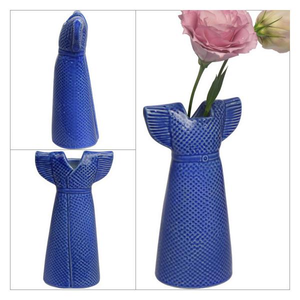 リサ・ラーソン 花瓶 ドレス ピンク ワードローブ 1560407 リサ・ラーソン LisaLarson(Lisa Larson)Clothes /Wardrobe Dress 花器・フラワーベース・陶器置物・北欧・オブジェ