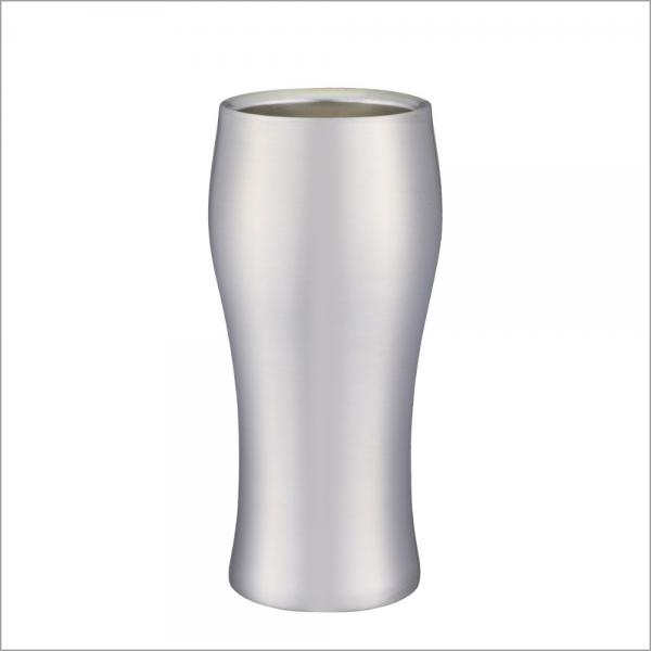 【5%OFFクーポン利用可能】飲みごろ ビールタンブラー 420ml マット DSB-420MT【クーポンコード:5R3MHHH】