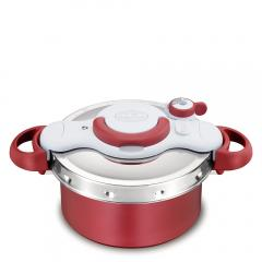 送料無料 T-fal 圧力鍋と鍋が一つに!クリプソ ミニット デュオ レッド 4.2L P4604236【北海道・沖縄は別途945円加算】 ティファール