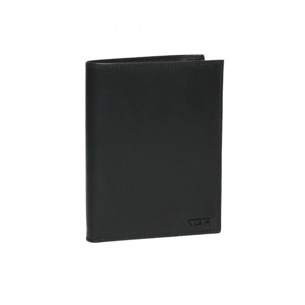 送料無料 TUMI 18671 Delta パスポートケース ブラック トゥミ【北海道・沖縄は別途945円加算】