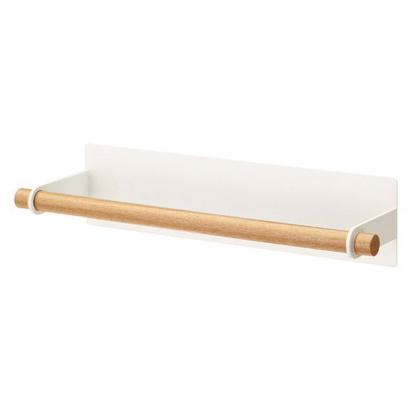 tosca(トスカ) マグネットキッチンペーパーホルダー 7824 ホワイト 磁石付き 台所用品 山崎実業