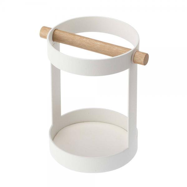 tosca(トスカ) ツールスタンド 7817 ホワイト キッチンツール収納 菜箸立て 箸スタンド キッチンツール立て 台所用品 山崎実業