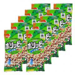 でん六 ポリッピー(しお味) 〈Eサイズ〉60g×10袋