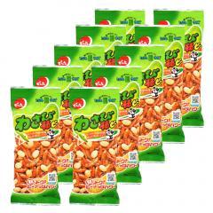 でん六 わさび柿ピー 〈Eサイズ〉70g×10袋