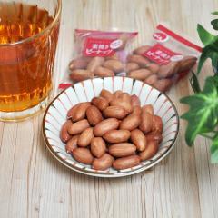 【送料無料】でん六 小袋素焼きピーナッツ 140g×12袋入