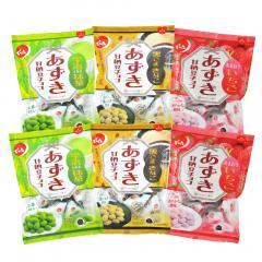 【送料無料】でん六 あずき甘納豆チョコ 3種類×2袋(抹茶・黒ごまきなこ・いちご) 母の日 ギフト