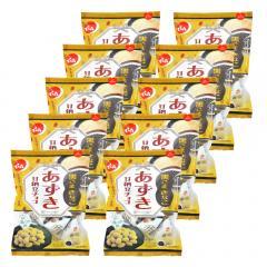 でん六 あずき甘納豆チョコ(黒ごまきなこ) 70g×10袋