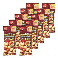 でん六 スナックカシュー&アーモンド〈Eサイズプラス〉36g×10袋