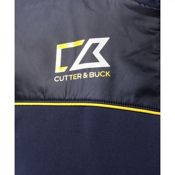 【SALE】CUTTER&BUCK(カッター&バック)羽織フルジップ長袖カットソー(17FW)CBM4634※返品交換不可