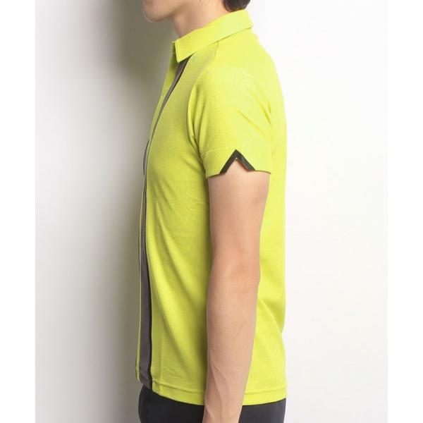 【SALE】DESCENTE GOLF(デサントゴルフ)半袖シャツ(17FW)DGM1547F※返品交換不可