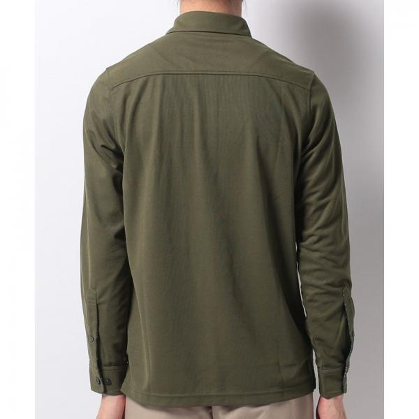 【SALE】Munsingwear(マンシングウェア)Andover Fabrics長袖シャツ(17FW)GWMK103※返品交換不可