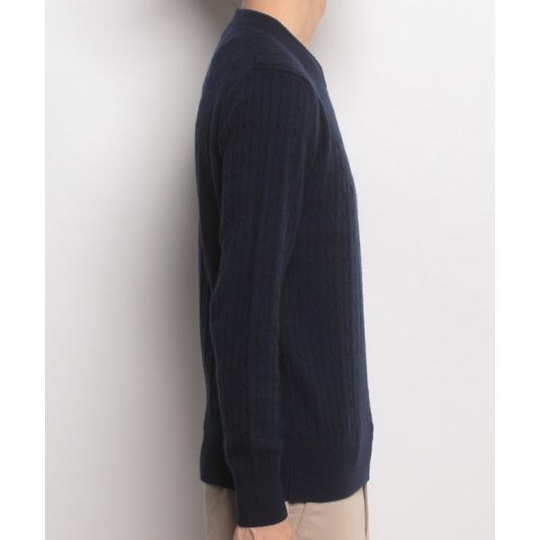 Munsingwear(マンシングウェア)カシミヤセーター(17FW)GWMK421