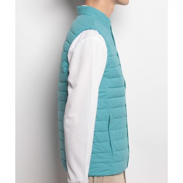 【SALE】Munsingwear(マンシングウェア)ヒートナビダウンベスト(17FW)GWMK650※返品交換不可