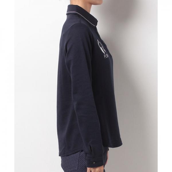 【SALE】Munsingwear(マンシングウェア)長袖シャツ(17FW)JWLK110※返品交換不可