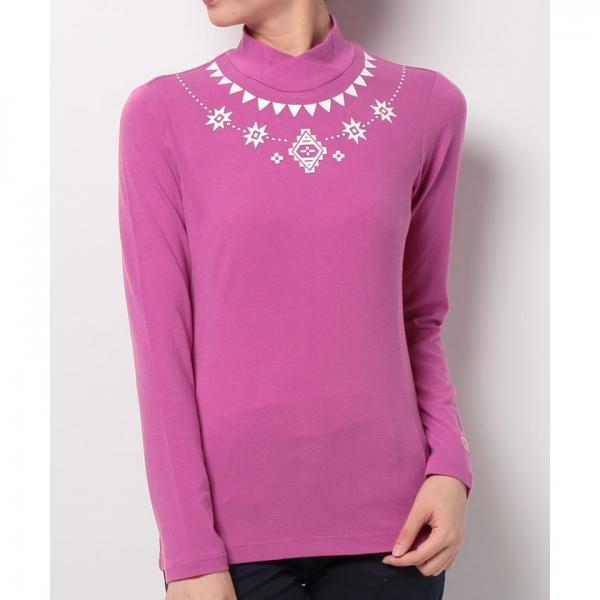 【SALE】Munsingwear(マンシングウェア)長袖ハイネックシャツ(17FW)JWLK117※返品交換不可