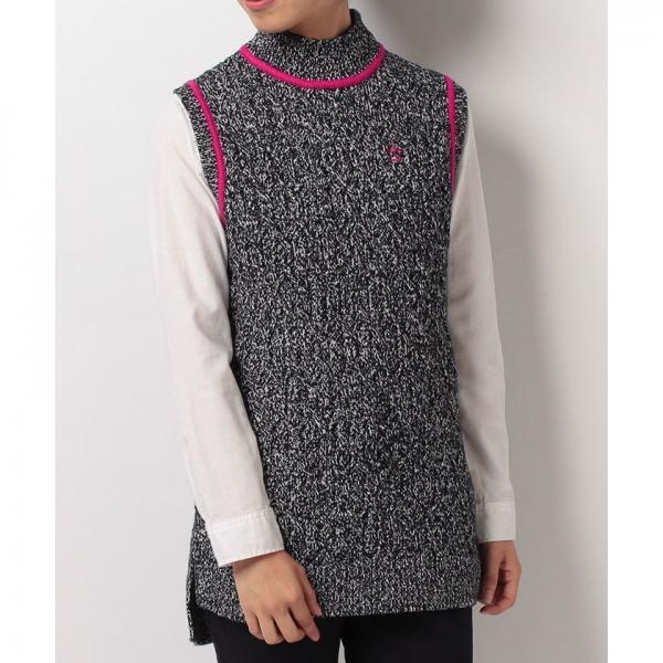 【SALE】Munsingwear(マンシングウェア)ベスト(ニット)(17FW)JWLK504※返品交換不可
