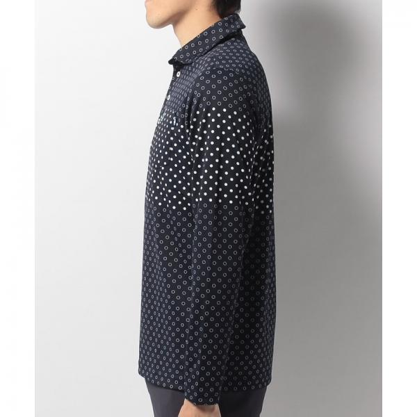 【SALE】Munsingwear(マンシングウェア)長袖シャツ(17FW)JWMK103※返品交換不可