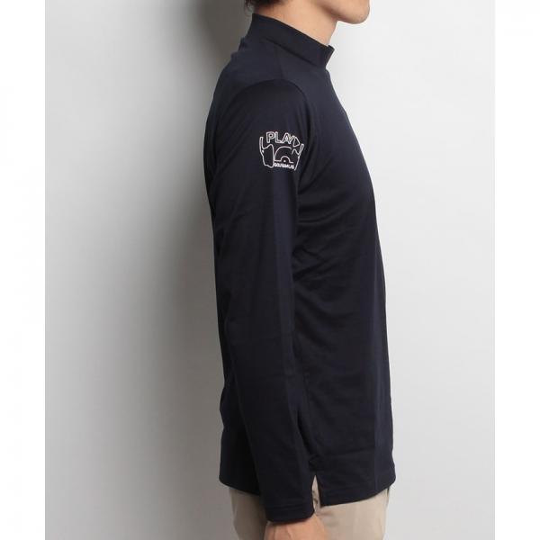 【SALE】Munsingwear(マンシングウェア)長袖ハイネックシャツ(17FW)JWMK111※返品交換不可