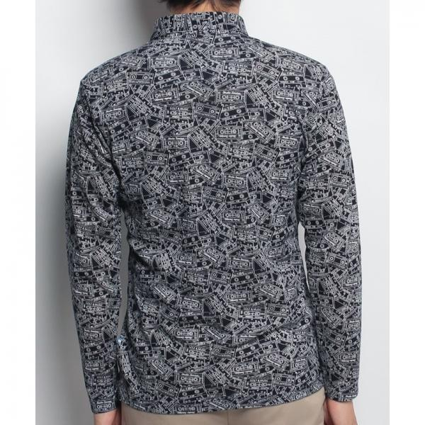 【SALE】Munsingwear(マンシングウェア)長袖シャツ(17FW)JWMK130※返品交換不可