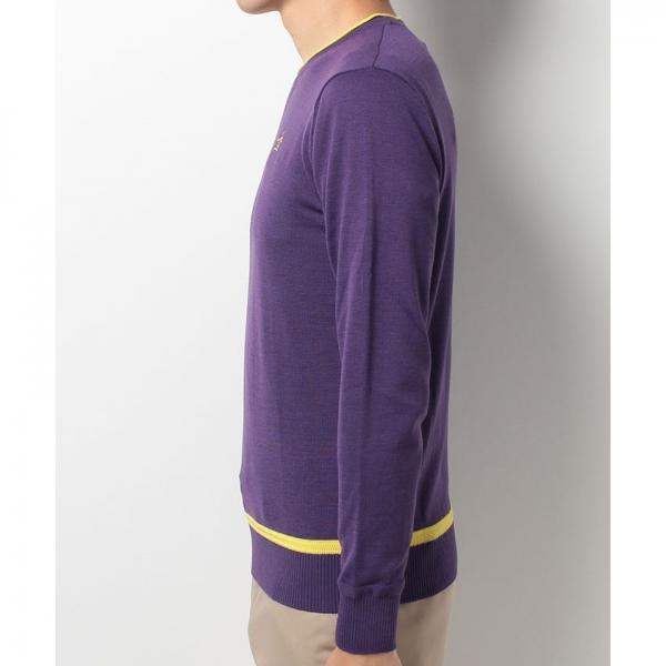 【SALE】Munsingwear(マンシングウェア)クルーネックセーター(17FW)JWMK405※返品交換不可