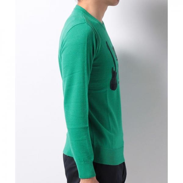 【SALE】Munsingwear(マンシングウェア)クルーネックセーター(17FW)JWMK407※返品交換不可