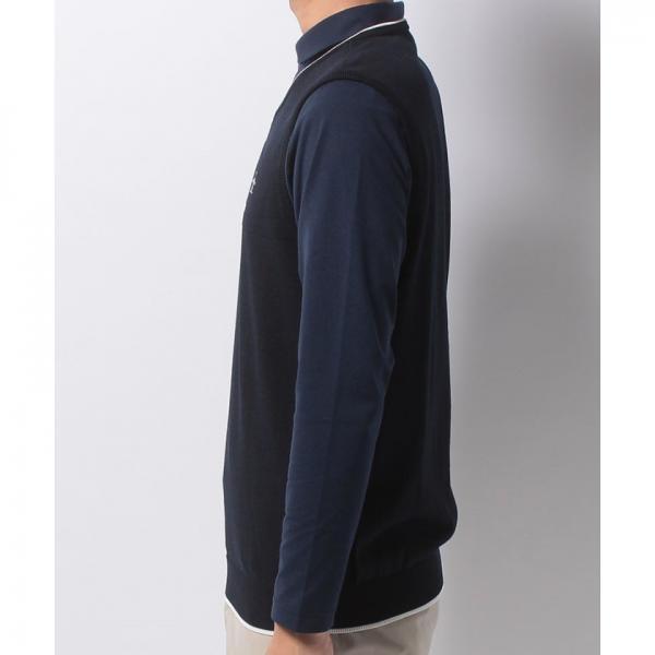 Munsingwear(マンシングウェア)Vネックニットベスト(17FW)JWMK501