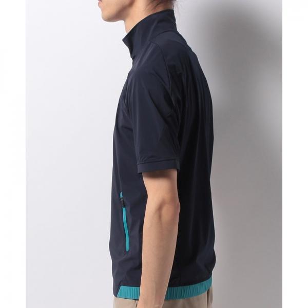 【SALE】Munsingwear(マンシングウェア)半袖アウター(17FW)JWMK651※返品交換不可