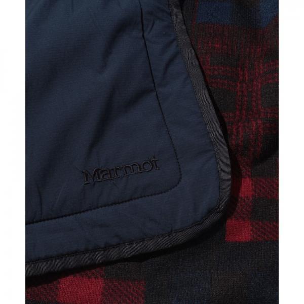 【SALE】Marmot(マーモット)W's Check Patchwork Fleece Skirt/ウィメンズチェックパッチワークフリーススカート(17FW)MJFF7587WP※返品交換不可※
